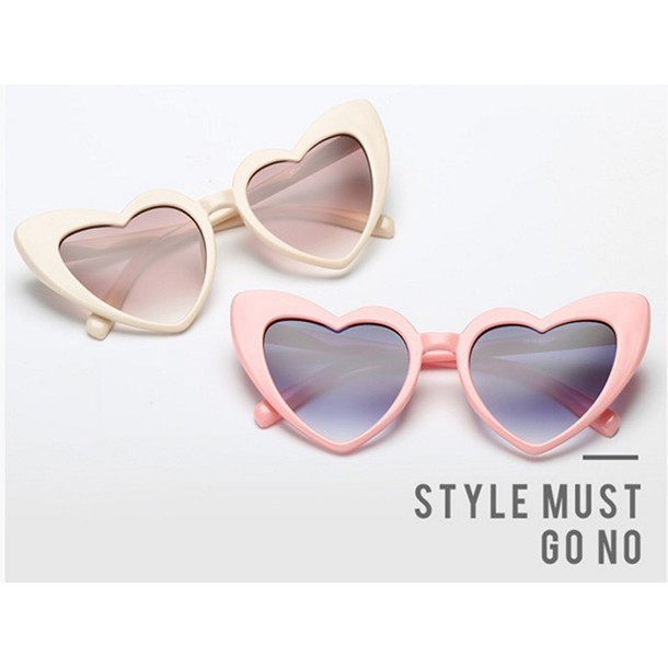 Timeless eyewear sunglasses outdoor 31716 female hearts personality trend