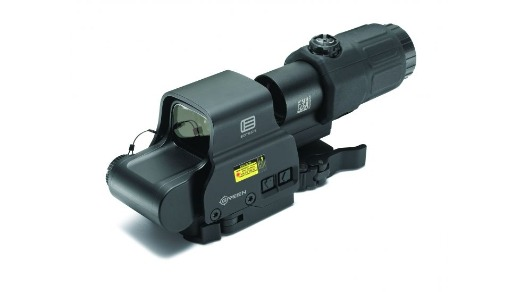 EOTECH HOLOGRAPHIC HYBRID GREEN DOT SIGHT W/ G33 MAGNIFIER AND STS MOUNT