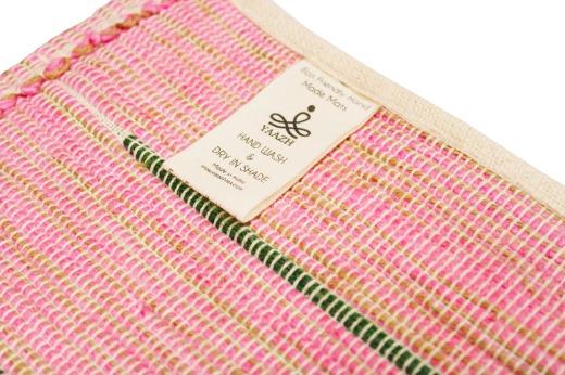 PARUTHI - Organic Cotton Yoga Mat with Back Rubberized