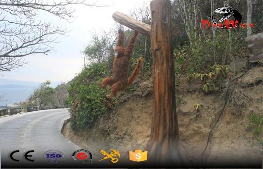 project Sanya out door display attractive monkey model