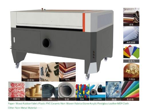 CO2 Acrylic Non Metal Laser Cutting Enagveing Machine