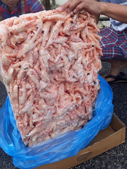 Frozen Chicken Paw- Grade A