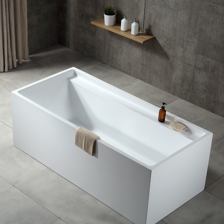 Best Freestanding rectangle bathtub  sanitary acrylic American Standard Most Popular Buy Soaking Tubs in China TW-6605