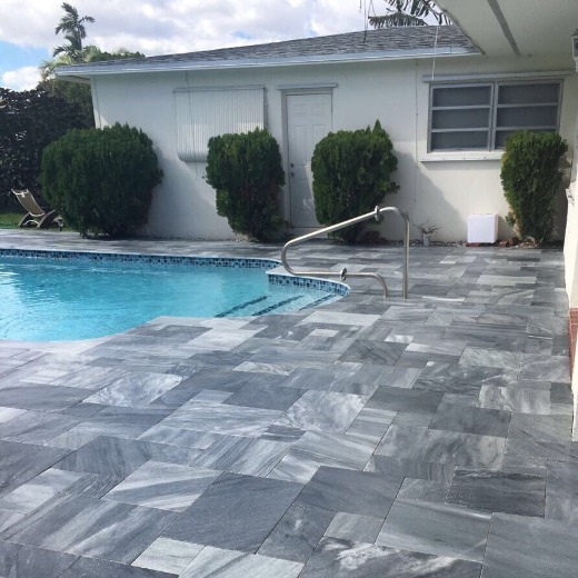 Black Marble for Swimming Pools