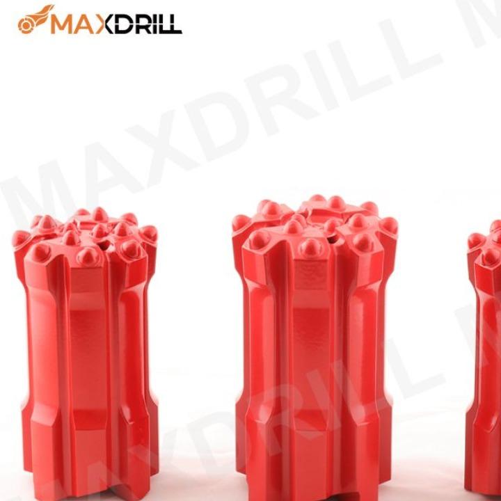 Maxdrill hard rock drilling bit GT60thread button bit 127mm