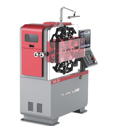 Union Spring - 3/4 Axis Spring Forming Machine