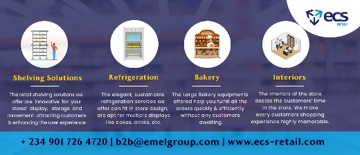 Supermarket Shelving - ECS Retail
