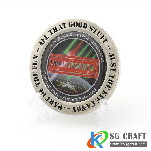 Metal Military Challenge Coin