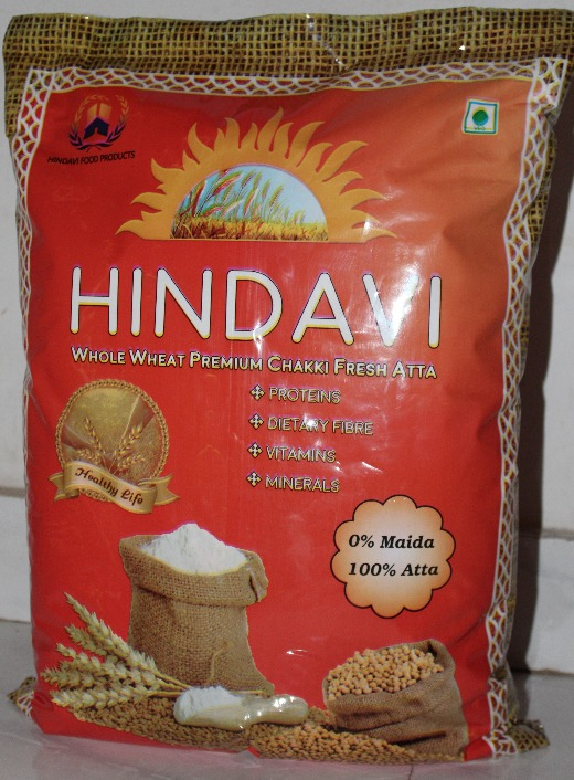 Hindavi Whole Wheat Flour 10Kg (Atta)