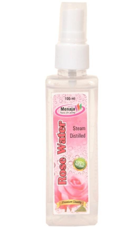 Menaja Natural Rose water 100 ml spray