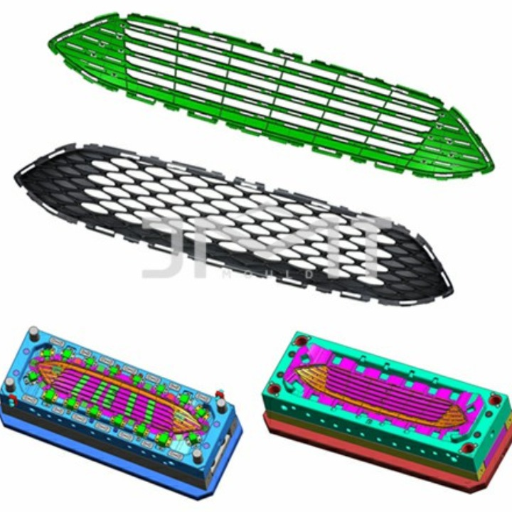 Processing custom grille mould