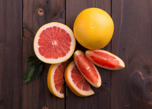 Fresh Juicy Grapefruit Citrus