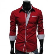 Red and Grey shirt for boys