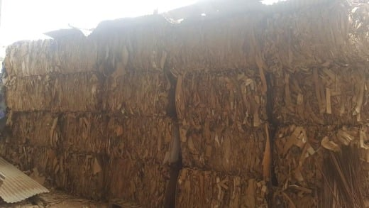 Quality used cardboard waste paper and selected OCC waste paper scrap for Sale.