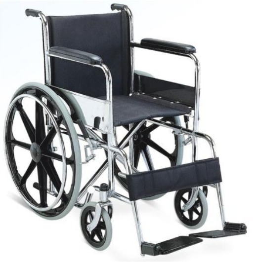 Wheelchair with Safety Belt