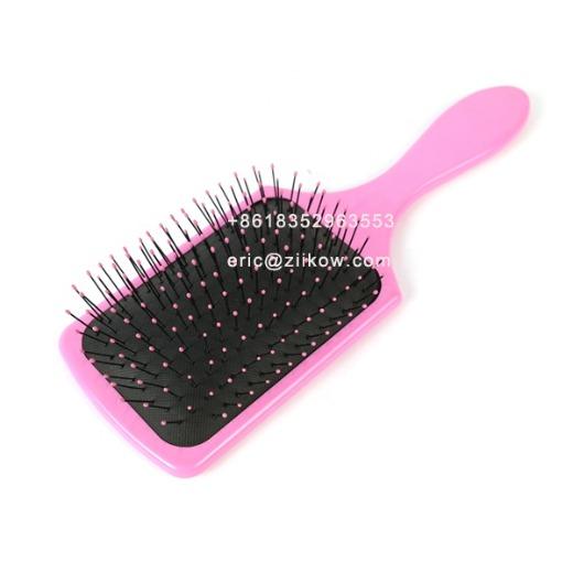 Wholesale factory sell  custom hair accessories magic massage plastic hair comb