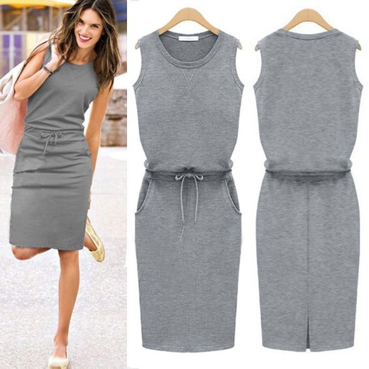 Causal dress | Grey Lady