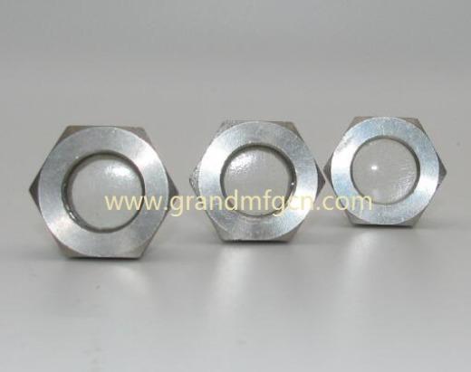 steel fused window sights nickel plated
