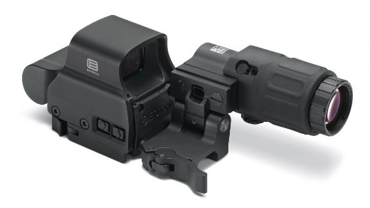EOTECH HHS-II HOLOGRAPHIC HYBRID SIGHT II W/ EXPS2-2 RED DOT SIGHT AND G33.STS MAGNIFIER
