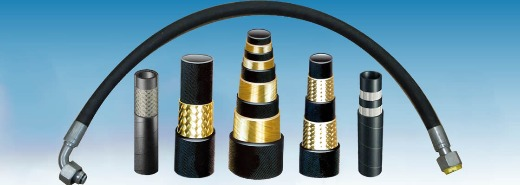 HYDRAULIC HIGH PRESSURE HOSE (WITH OR WITHOUT FITTING)