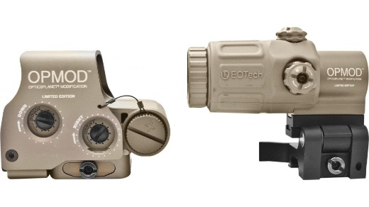 EOTECH OPMOD EXPS3-0 HHS-I HOLOSIGHT W/G33 3X MAGNIFIER, 65 MOA RING, 1MOA DOT
