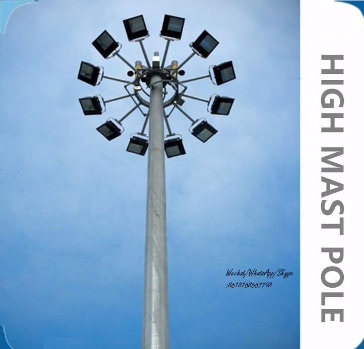 Polygonal or Conical High Mast Pole