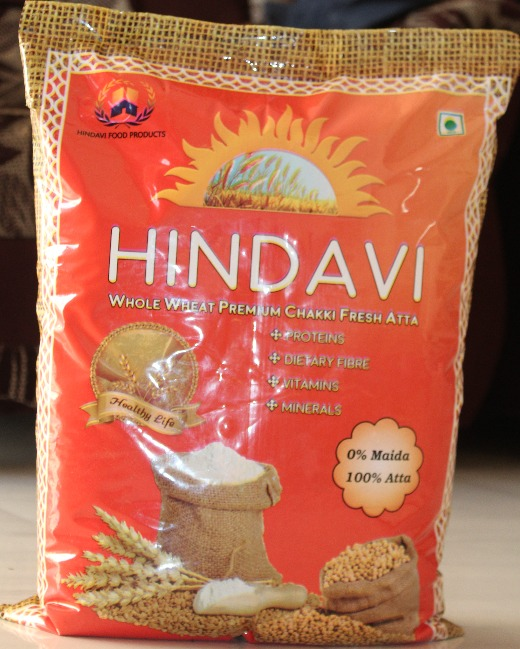 Hindavi Whole Wheat Flour 5Kg (Atta)