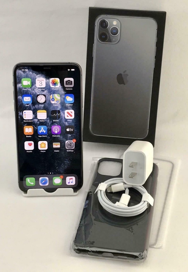 Apple iPhone 11 Pro Max A2161 64/256/512GB Factory Unlocked