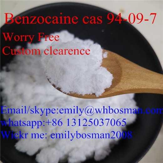 Supply Benzocaine ,100% Safe Delivery