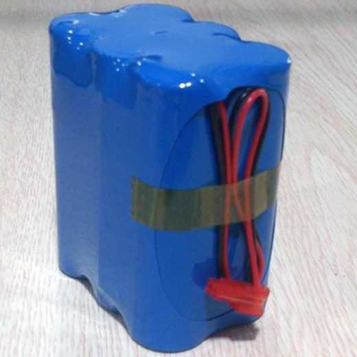 High quality lithium ion battery pack 11.1v 4400mah 18650 battery pack