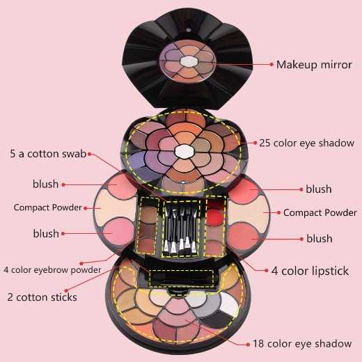 Miss Rose Makeup case,wholesale,new