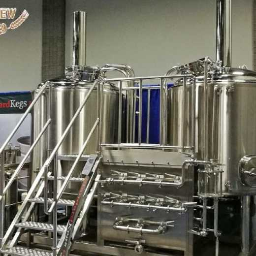 10BBL two vessels brewhouse for microbrewey in stock