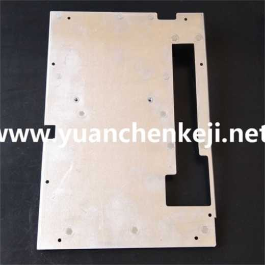 Customized Processing of Instrument Shield