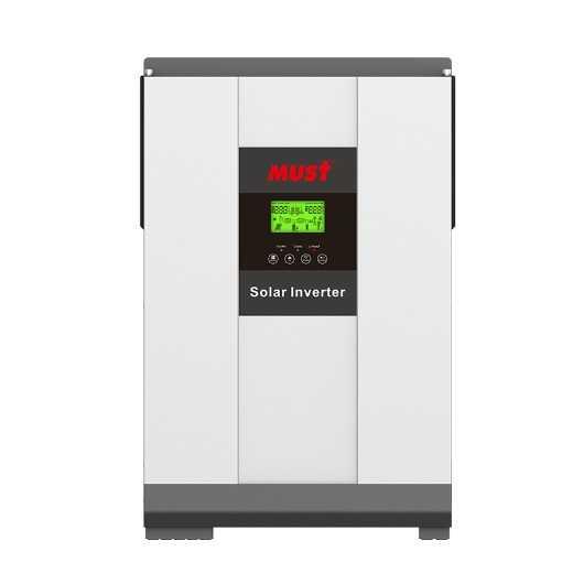 MUST 3000VA DC to AC 24V For PV1800 VHM Hybrid Solar Inverter Power Home System