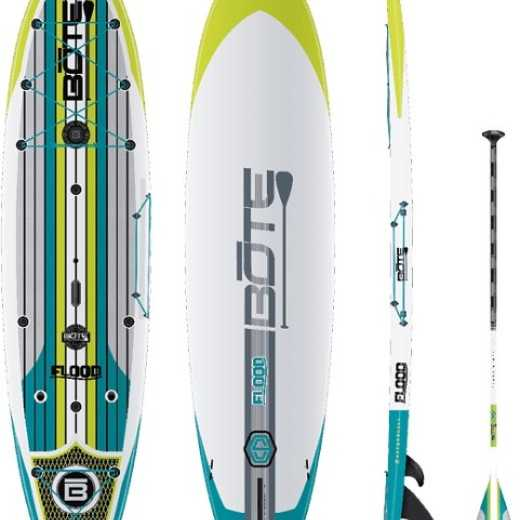 Bote Flood Gatorshell Stand Up Paddle Board with Paddle - 10'6