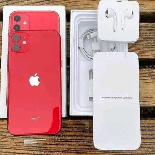 Apple phone 11 red 256gb