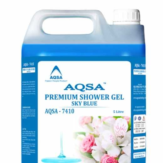 Premium Shower Gel Sky Blue (AQSA – 7410)