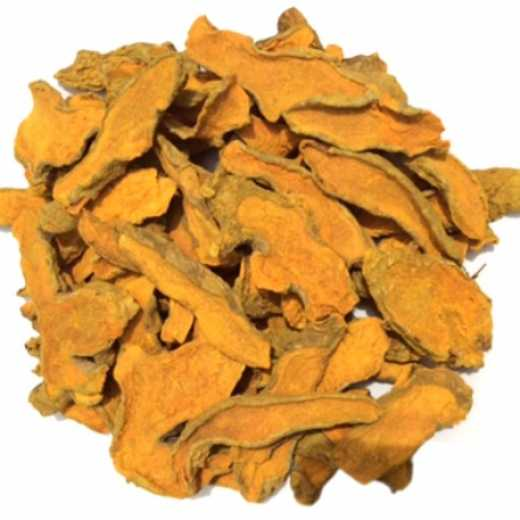 Dried Turmeric Slices