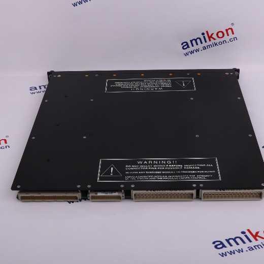 TRICONEX TRICON 3617E Digital Input Module, 8 Groups of Common, Self-Test 48VDC TMR