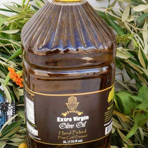 Extra Virgin Olive Oil, 5L Plastic Bottle.