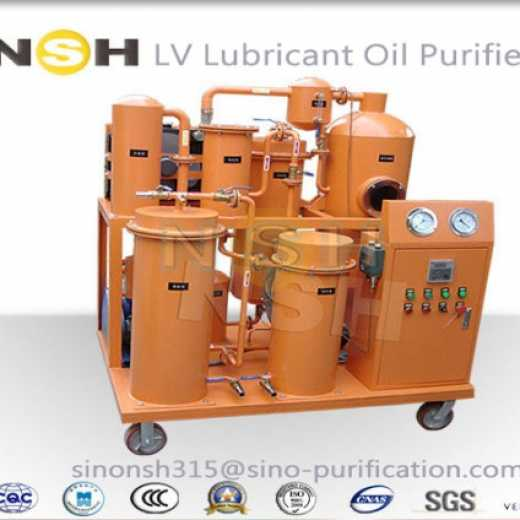 Sino-NSH LV series Lubricant oil purifier and oil cleaning for lube oil