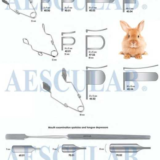 Cheek Retractor for Small Animals