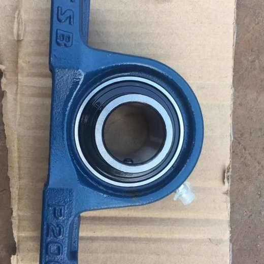 Low Frictional Resistance Steel Pillow Block Bearings UCT205 UC205 T205 Double Seal