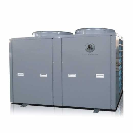Central hot water pool system, family pool hot water unit