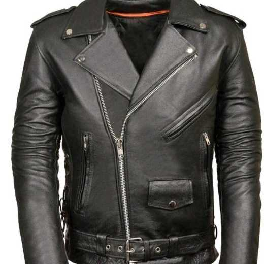 #Moterbike clothing:- Moterbike jacket with pure 100% split leather as well softness
