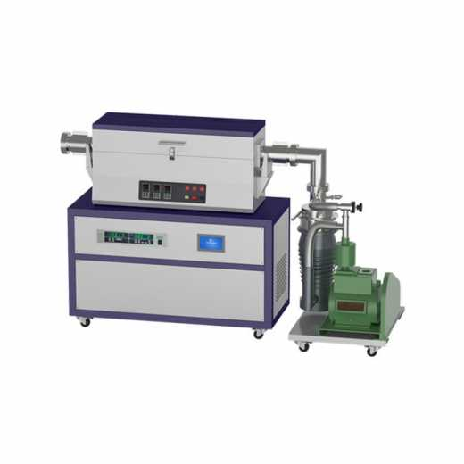 1200℃ High vacuum nickle base alloy tube furnace for lab