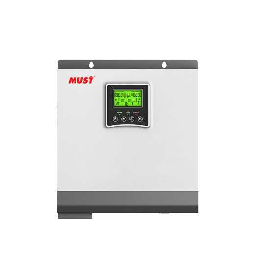 High Frequency Solar Inverter With MPPT inside