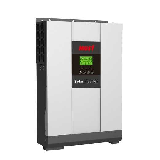 MUST Solar Hybrid Inverter 3000W 24V  with 80A MPPT Controller