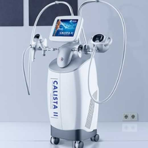 CALISTA II - NANO CAVITATION, WELLA SHAPE RADIOFREQUENCY, INFRARED, VACUUM AND ROLLER MASSAGE