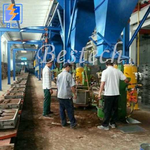 Foundry Clay Sand Recycling Molding Line